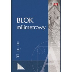 BLOK MILIMETROWY A4/20K