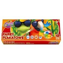 FARBY PLAKATOWE 12KOL 20ML...