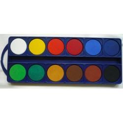 Farby akwarelowe 12 kolorów...